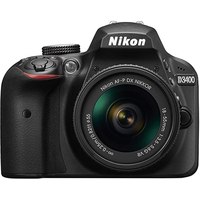 Nikon D3400 kit AF-P 18-55VR 24.2Mpx CMOS, EXPEED 4, Full HD(1920x1080,60p); LiveView, View Screen 3,0""