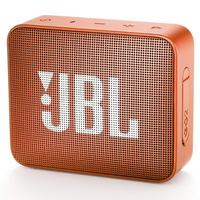 JBL Go 2 Orange, Portable, 3W (1x3W) RMS, BT 4.1, 180Hz – 20kHz, IPX7 Waterproof, Lithium-ion battery 730mAh, 3.5 mm jack , Battery life 5 hr