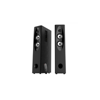 "F&D T-60X (Black, 2x55W RMS(4""+1""), subwoofer 8"", 20Hz-20kHz, 70dB, USB/SD, FM, Karaoke, LCD, Bluetooth, NFC, FM, Optical, Remote Control)"