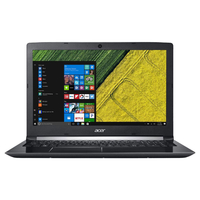 "Laptop ACER Aspire A515-51G i5-8250U, 4GB, 1TB/128GB, GeForce 2Gb, 15.6""FHD, CR, Obsidian Black"