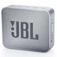 JBL Go 2 Gray, Portable, 3W (1x3W) RMS, BT 4.1, 180Hz – 20kHz, IPX7 Waterproof, Lithium-ion battery 730mAh, 3.5 mm jack , Battery life 5 hr