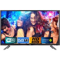 """32"""" LED TV BRAVIS 32E3000 Smart+T2 black"""