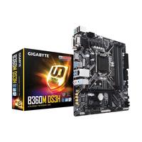 Placa de baza Gigabyte B360M DS3H, S1151, iB360, Dual 4xDDR4-2666, VGA, DVI, HDMI, 2xPCIe X16, 6xSATA3, 1xM.2, 1xPCIe X4, 1xPCIe X1, ALC887 HDA, GLAN