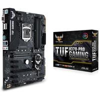 Placa de baza ASUS TUF H370-PRO GAMING S1151, iH370, SATA-III, USB3.1, CPU-Graphics, HDMI, DP, GLAN, 4xDDR4 2666MHz, ALC887, 2xM.2 slot, 2*PCI-Ex16, 4