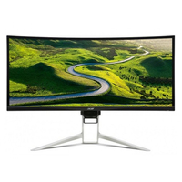 "Monitor 34.0"" ACER Predator UW-QHD XR342CKBMIJPHUZX ZeroFrame, W-LED, 3440x1440, 5ms, 300cd, DP, HDMI, FreeSync, Speakers, VESA, Black"