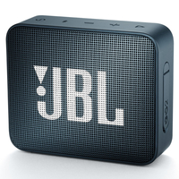 JBL Go 2 Navy, Portable, 3W (1x3W) RMS, BT 4.1, 180Hz – 20kHz, IPX7 Waterproof, Lithium-ion battery 730mAh, 3.5 mm jack , Battery life 5 hr