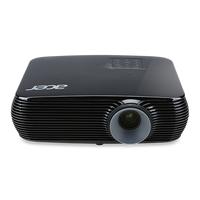 ACER X1226H (MR.JPA11.001) DLP 3D, XGA, 1024x768, 20000:1, 4000Lm, 10000hrs (Eco), HDMI, HDMI (MHL), 2*VGA, 3W Mono Speaker, Black, 2,7kg