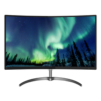 "27.0"" Philips ""278E8QJAB"", G.Black (Curved VA, 1920x1080, 4ms, 250cd, LED20M:1, HDMI+DP+VGA, Spk)"