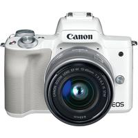 DC Canon EOS M50 WH & EF-M 15-45 STM