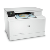 HP Color LaserJet Pro MFP M180n, Color Printer/Scanner/Copier, A4, Print 600x600 dpi, Scan 1200x1200 dpi, LAN, LCD, USB