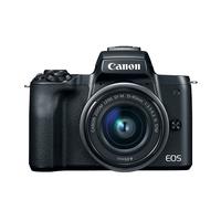 DC Canon EOS M50 Bk & EF-M 15-45 STM