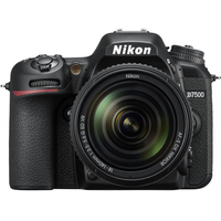 Nikon D7500 kit 18-140 VR, 20.9MPx, 4K UHD, EXPEED 5, Multi-CAM 3500FX II, Wi-Fi, Bluetooth, NFC, USB