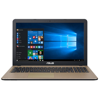 "Laptop ASUS X540NA-GQ052, iPentium N4200, 4Gb, 1Tb, iHD+HDMI, 15.6"" HD, CR, Chocolate Black"