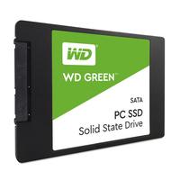 SSD 120GB Western Digital Green WDS120G2G0A [R/W:540/465MB/s, 68K IOPS, Silicon Motion, SLC]