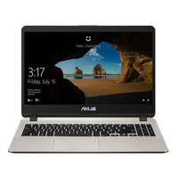 "Laptop Asus X507MA, iQuadCore N5000, 4Gb, 1Tb, iHD+HDMI, 15.6"" FHD, CR, Gold"