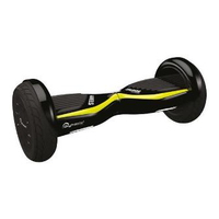 Skymaster Wheels Dual 11 Hoverboard, Black/Yellow