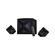 F&D F550X Black, 2x14W (3'), 28W subwoofer (6.5'), RMS 56W, 70dB, BT 4.0, NFC, USB/SD card port, FM, Multicolor LED-light, LED-screen, Remote Control