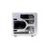ARMOR VA8004SWA FulTower ATX, Aluminium, 4-coolers, Audio&2xUSB2.0&IEEE1394, Transparent SidePanel, Silver Thermaltake 1