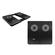 Spire SP302AP-B PacificBreeze-II Notebook Cooling pad, Aluminum, 2-port USB 2.0 HUB, 2Fan80x80x15mm/1500RPM, USB, Black 1
