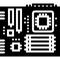 Placa de baza. Placa de baza PC. Motherboard